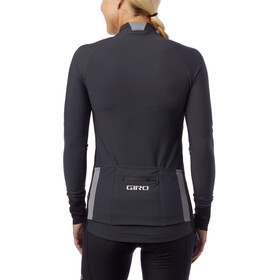 Giro Chrono LS Thermal Jersey Dames, charcoal